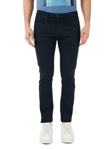 Hugo Boss  Pamuklu Extra Slim Fit Jeans Erkek Kot Pantolon 50446977 414 Lacivert